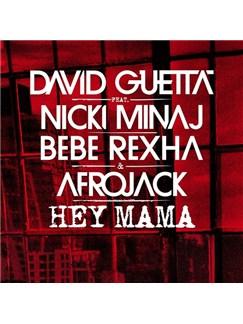 David Guetta: Hey Mama (feat. Nicki Minaj & Afrojack) Partituras Digitales | Piano, Voz y Guitarra (Mano-derecha Melodia)