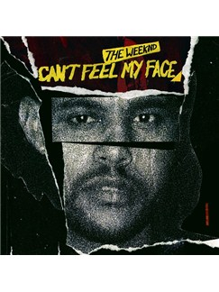 The Weeknd: Can't Feel My Face Digital Sheet Music | Lyrics & Chords (with Chord Boxes)