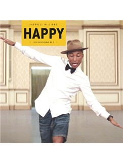 Pharrell Williams: Happy Digital Sheet Music | Piano (Big Notes)