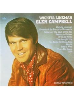 Glen Campbell: Wichita Lineman Digital Sheet Music | Easy Piano