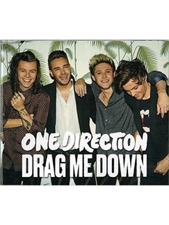One Direction: Drag Me Down Digital Sheet Music | Easy Piano