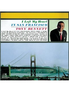 Tony Bennett: I Left My Heart In San Francisco Digital Sheet Music | Clarinet