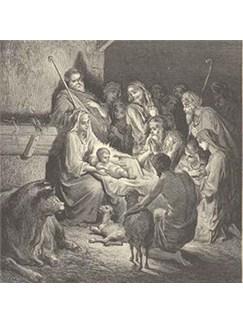 Traditional Danish Melody: A Child Is Born In Bethlehem Digital Sheet Music | Violin