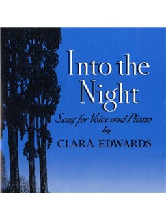 Clara Edwards: Into The Night Digital Sheet Music | Piano & Vocal