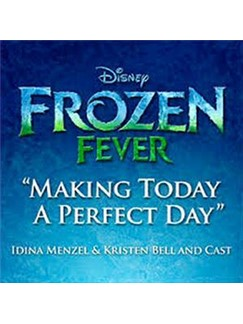 Idina Menzel: Making Today A Perfect Day (from Frozen Fever) Digitale Noder | Klaver, tekst & guitar med backing track