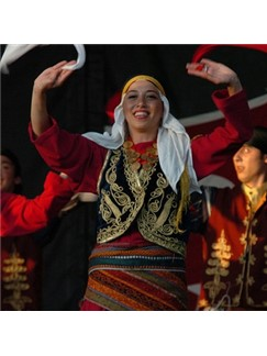 Turkish Folksong: Charki Hidjaz (The Sun Hangs High) Digital Sheet Music | Guitar Ensemble