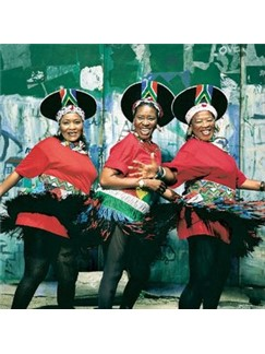 South African Folksong: Ke Nale Monna (arr. Paul Thompson) Digital Sheet Music | SATB