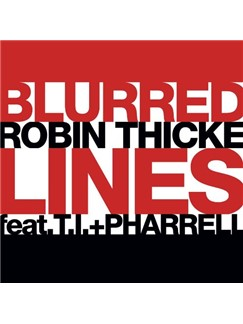 Robin Thicke: Blurred Lines Digital Sheet Music | Super Easy Piano