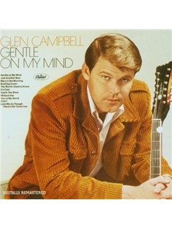 Glen Campbell: Gentle On My Mind Digital Sheet Music | Lyrics & Chords (with Chord Boxes)