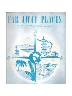 Joan Whitney: Far Away Places Digital Sheet Music | Piano, Vocal & Guitar (Right-Hand Melody)