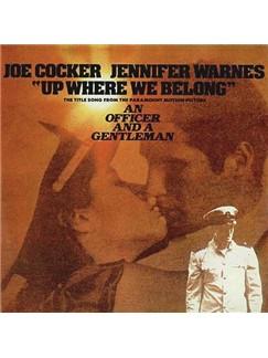 Joe Cocker and Jennifer Warnes: Up Where We Belong (from An Officer And A Gentleman) Digital Sheet Music | Melody Line, Lyrics & Chords