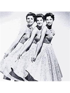 McGuire Sisters: Goodnight My Love, Pleasant Dreams Digital Sheet Music | Melody Line, Lyrics & Chords