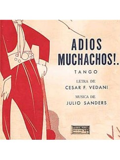 Julio Cesar Sanders: Adios Muchachos Digital Sheet Music | Melody Line, Lyrics & Chords