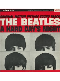 The Beatles: A Hard Day's Night Digital Sheet Music | Melody Line, Lyrics & Chords