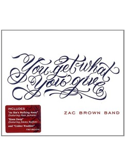 Zac Brown Band: Let It Go Digital Sheet Music | Lyrics & Chords (with Chord Boxes)
