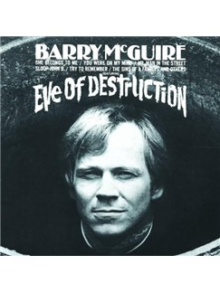 Barry McGuire: Eve Of Destruction Digital Sheet Music | Lyrics & Chords (with Chord Boxes)