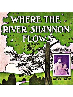 James J. Russell: Where The River Shannon Flows Digital Sheet Music | Melody Line, Lyrics & Chords
