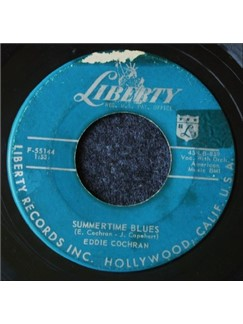 Eddie Cochran: Summertime Blues Digital Sheet Music | Ukulele Ensemble