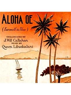 Queen Liliuokalani: Aloha Oe Digital Sheet Music | Ukulele Ensemble