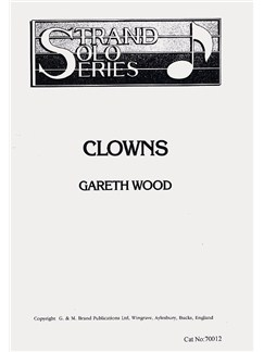 Gareth Wood: Clowns Books | Tenor Horn, Piano Accompaniment