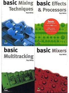 Basic Starter Pack: Studio Recording Basics A Books |