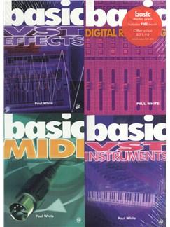 Basic Starter Pack: Computer Recording Basics Books |