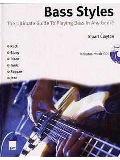 Stuart Clayton: Bass Styles Books and CDs | Bass Guitar