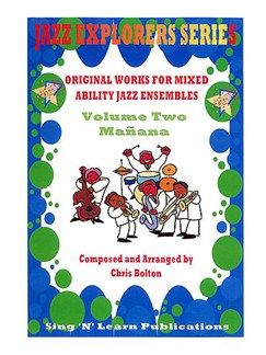 Jazz Explorers Series: Manana Volume Two Books | All Instruments