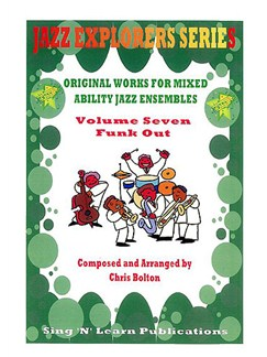 Jazz Explorers Series: Funk Out Volume Seven Books | All Instruments
