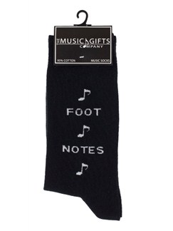 Music Gifts: Socks Foot Notes  |