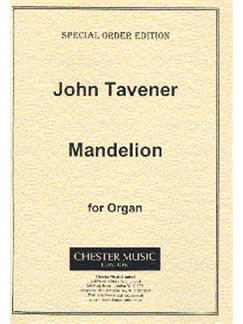 John Tavener: Mandelion Books | Organ