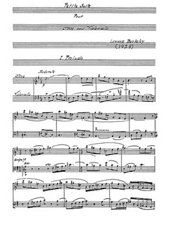 Lennox Berkeley: Petite Suite (Players' Score) Books   Oboe, Cello