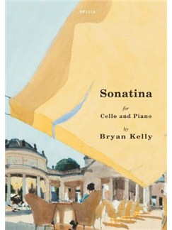 Bryan Kelly: Sonatina - Cello/Piano Books | Cello, Piano Accompaniment