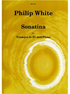 Philip White: Sonatina for Trumpet In B flat and Piano Books | Trumpet, Piano Accompaniment