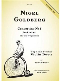 Nigel Goldberg: Concertino No.1 In A Minor Books | Violin, Piano Accompaniment