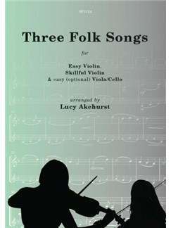 Three Folk Songs (Flexible String Trio) Books | Violin (Duet), Cello (Duet), Viola (Duet)
