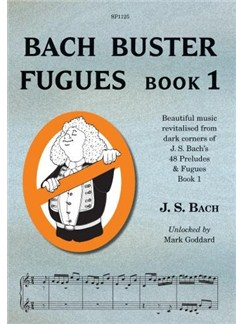 Bach Buster Fugues Book 1 Books | Piano