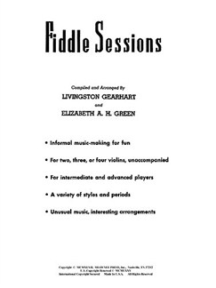 Fiddle Sessions Books | String Ensemble, Violin