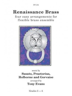 Renaissance Brass: Flexible 4 Part Brass Ensemble (score & parts) Books | Brass Ensemble