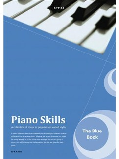 Kevin Holt: Piano Skills - The Blue Book Books | Piano