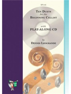 Ten Duets for the Beginning Cellist (Book/CD) Books and CDs | Cello