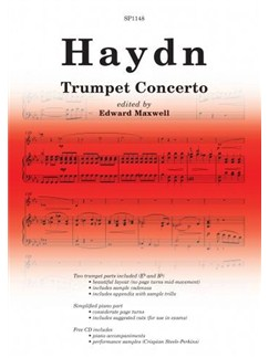 Franz Joseph Haydn: Trumpet Concerto Books and CDs | Piano, Piano Accompaniment