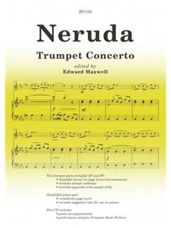 Neruda: Trumpet Concerto Books and CDs | Piano, Piano Accompaniment