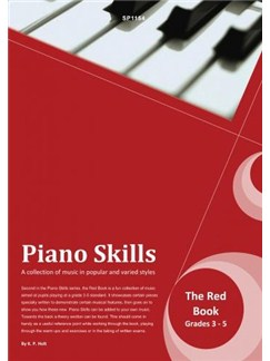 Kevin Holt: Piano Skills - The Red Book Books | Piano