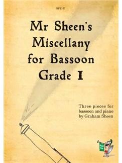 Mr Sheen's Miscellany For Bassoon - Grade 1 Books | Bassoon, Piano Accompaniment