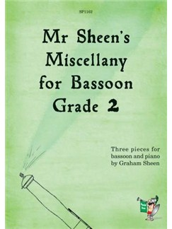 Mr Sheen's Miscellany for Bassoon - Grade 2 Books | Bassoon