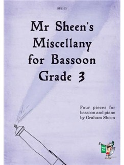 Mr Sheen's Miscellany For Bassoon - Grade 3 Books | Bassoon