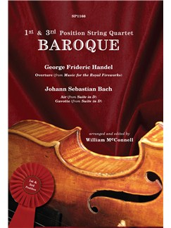 1st & 3rd Position String Quartet: Baroque Books | String Quartet