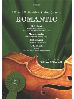 1st & 3rd Position String Quartet: Romantic Books | String Quartet
