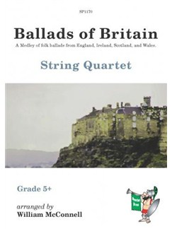 Ballads of Britain for String Quartet Books | String Quartet